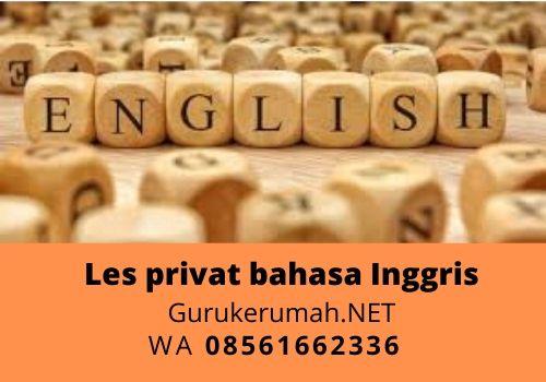 Guru Les Privat Bahasa Inggris Ke Rumah